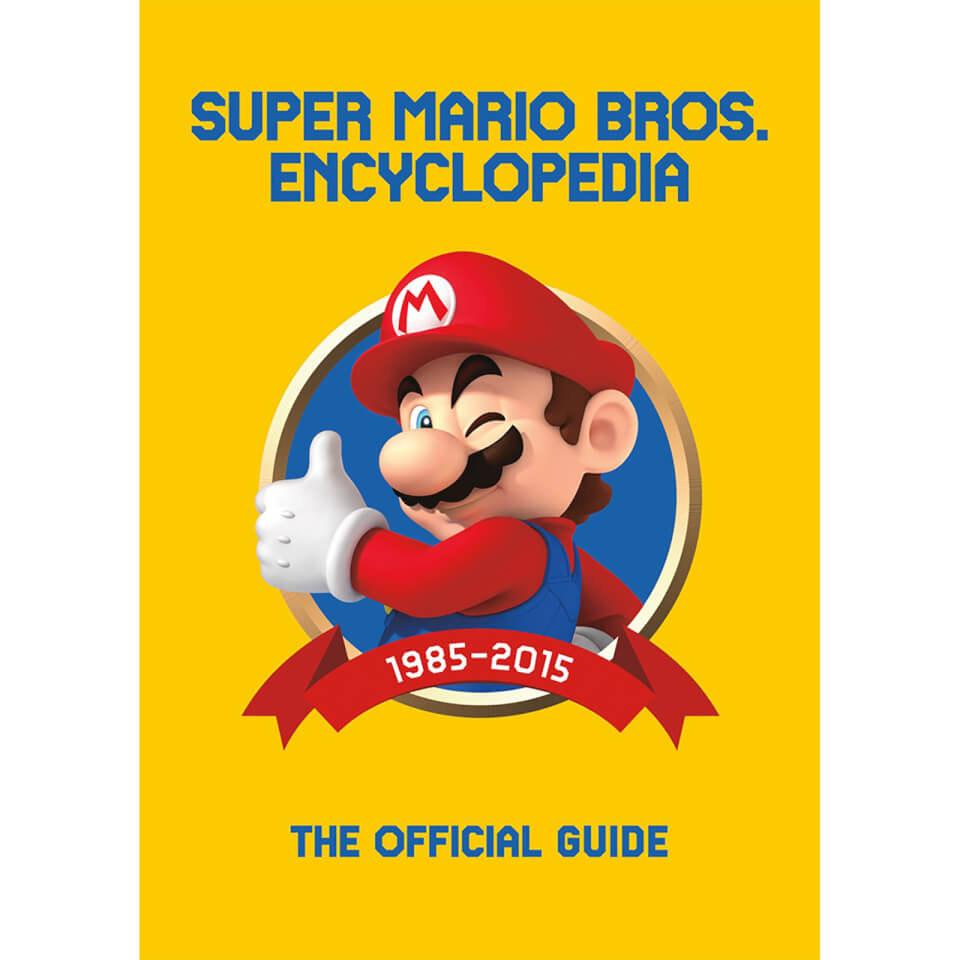 Super Mario Encyclopedia £14.99 + £1.99 delivery at Zavvi