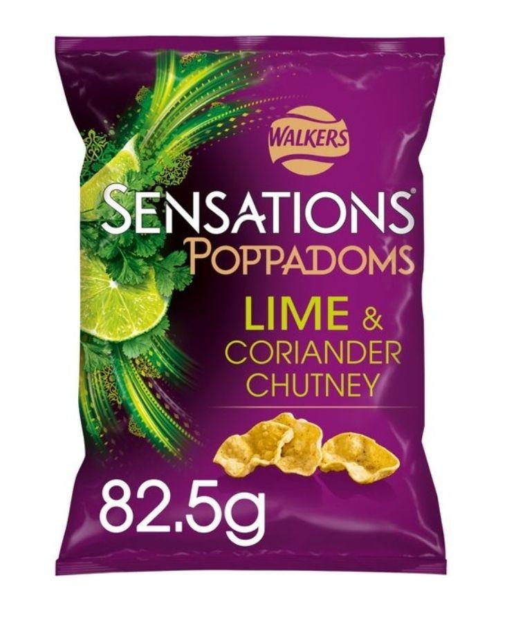 Walkers Poppadoms/Sensations @ 90p (flavours in description)