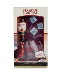 Famous grouse gift set - £4.99 instore only @ ALDI Solihull