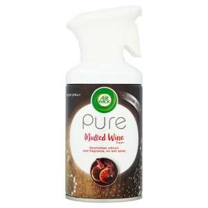 Air Wick Pure in Mulled Wine and Winter Berry Treat - £1 instore At Wilko Sutton