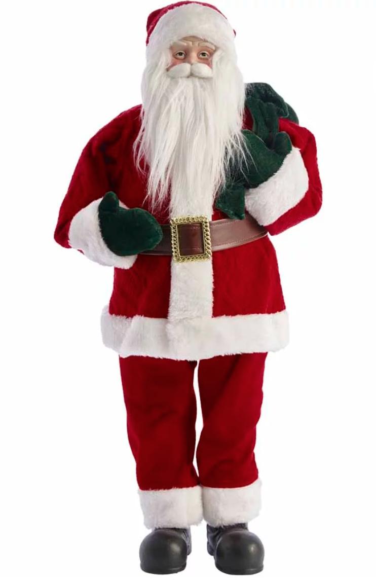 Wilko Large Standing Santa - £12.50 instore Ashford, Kent
