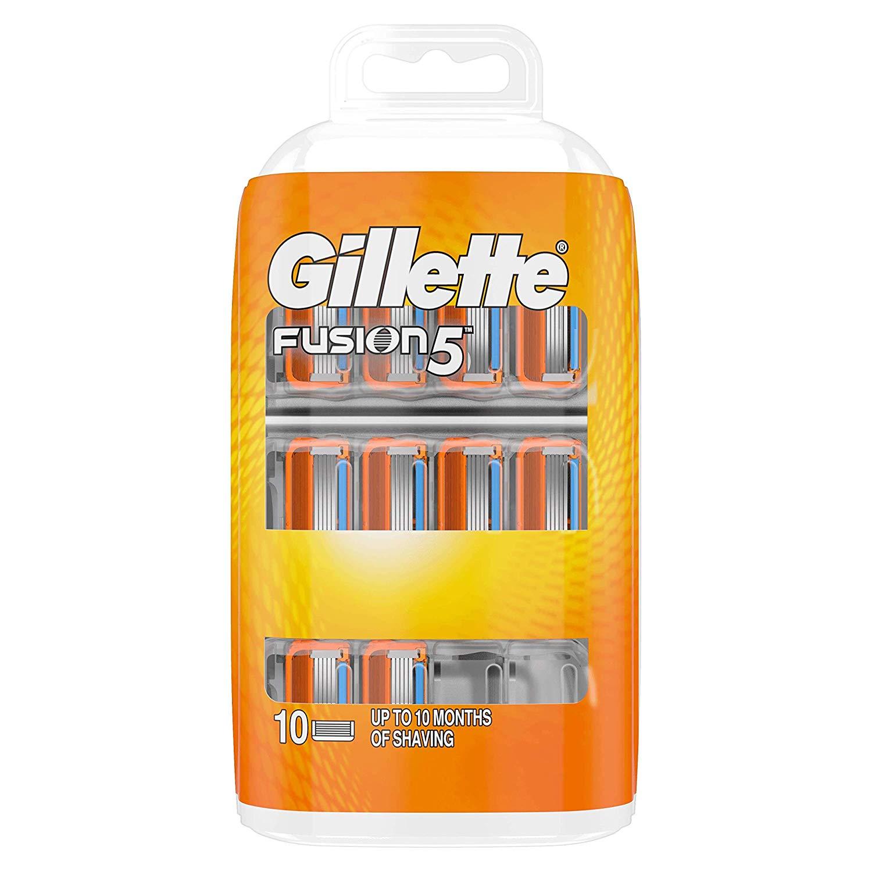 Gillette Fusion 5 Razor Blades for Men, 10 Refills - £17 Prime / +£4.49 non Prime @ Amazon