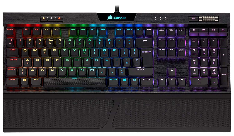 Corsair K70 RGB MK.2 Low Profile Mechanical Gaming Keyboard - £89.99 @ Amazon