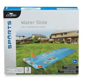 Crane Double water slide in Blue. Was £12.99 down to 29p @ Aldi Livingston