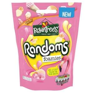 Randoms! All 140g pouches £1.00 @ Tesco