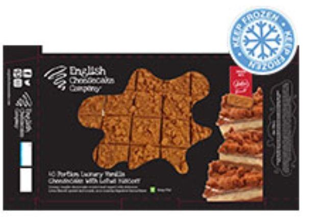 English Cheesecake Co Vanilla & Lotus Biscoff Cheescake Bites 40 Pack £8.99 at Costco instore