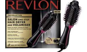 Revlon hair dryer and volumiser £34.99 + free Click and Collect @ Boots