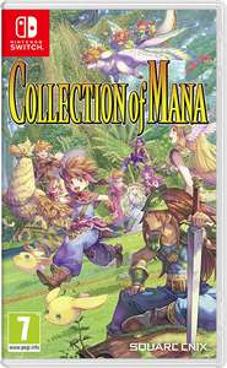 Collection of mana Nintendo switch - £17.49 @ Nintendo Shop