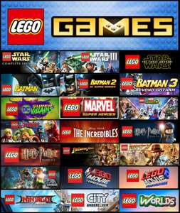 Lego PC games - Steam sale returns, many up to 75% off