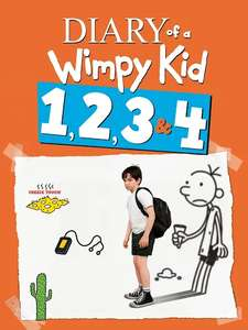 Diary of a Wimpy Kid ALL 4 Movies HD Digital £8.99 to own @ Google Play