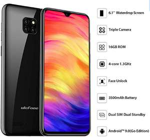 Mobile Phone, Ulefone Note 7 (2019) £59.98 Sold by Mobile Trading - UK and Fulfilled by Amazon