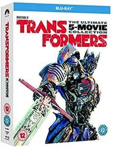 Transformers 5 movie collection blu ray £13.19 @ Amazon Prime (+£2.99 non Prime) 4%tcb