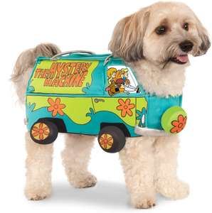 Official Rubie's Scooby-Doo Mystery Machine Pet Dog Costume at Amazon £15.13 Prime (+£3.49 non Prime)