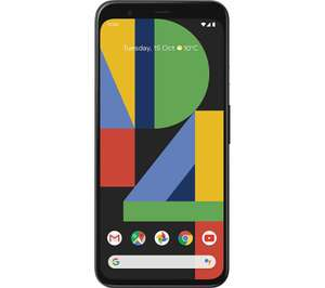 Google pixel 4 64GB all colours for £519 at Currys/PC World