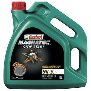Castrol Engine Magnatec Oil 5W-20 now £25.74 (with code) @ CarParts4Less