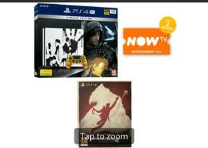 Limited Edition Death Stranding PS4 Pro Bundle + Uncharted 4 - The Only on PlayStation Collection + NOW TV 2 Months Pass for £279 @ Game