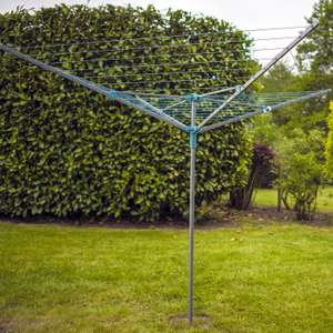 Minky Easybreeze 3 Arm Rotary Airer 45m - £2.99 in Aldi Gillingham BP