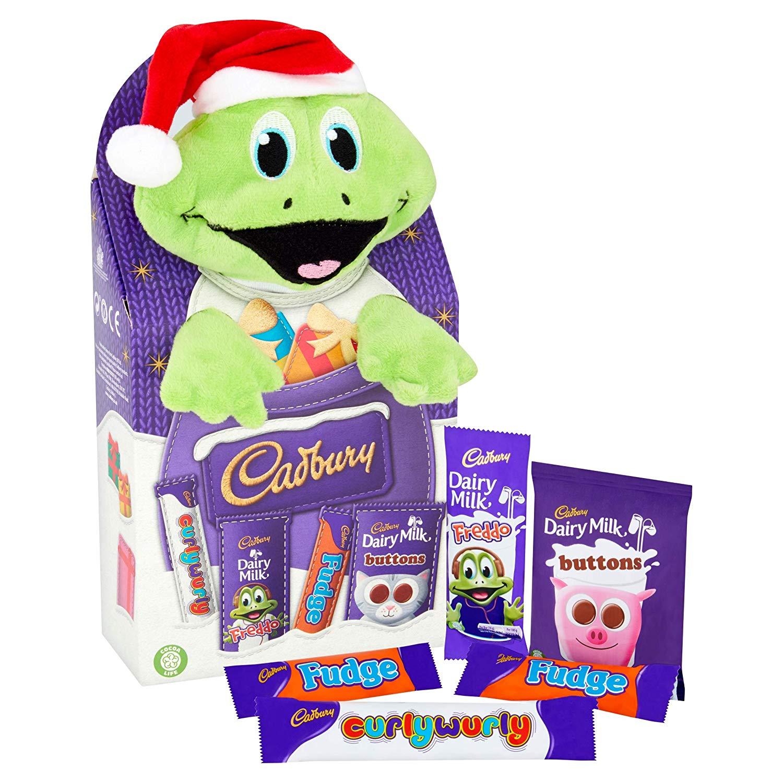 Cadbury Christmas Selection Box Plush Toy, 70 g, Pack of 8 Amazon Pantry (£15 minimum + £3.99 delivery)