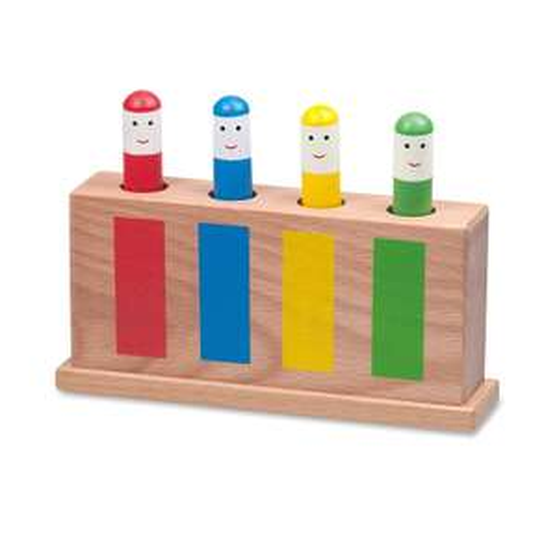 Galt Toys Classic Pop-Up Toy, Multi-Coloured £6 (Prime) £10.49 (Non-Prime) @ Amazon