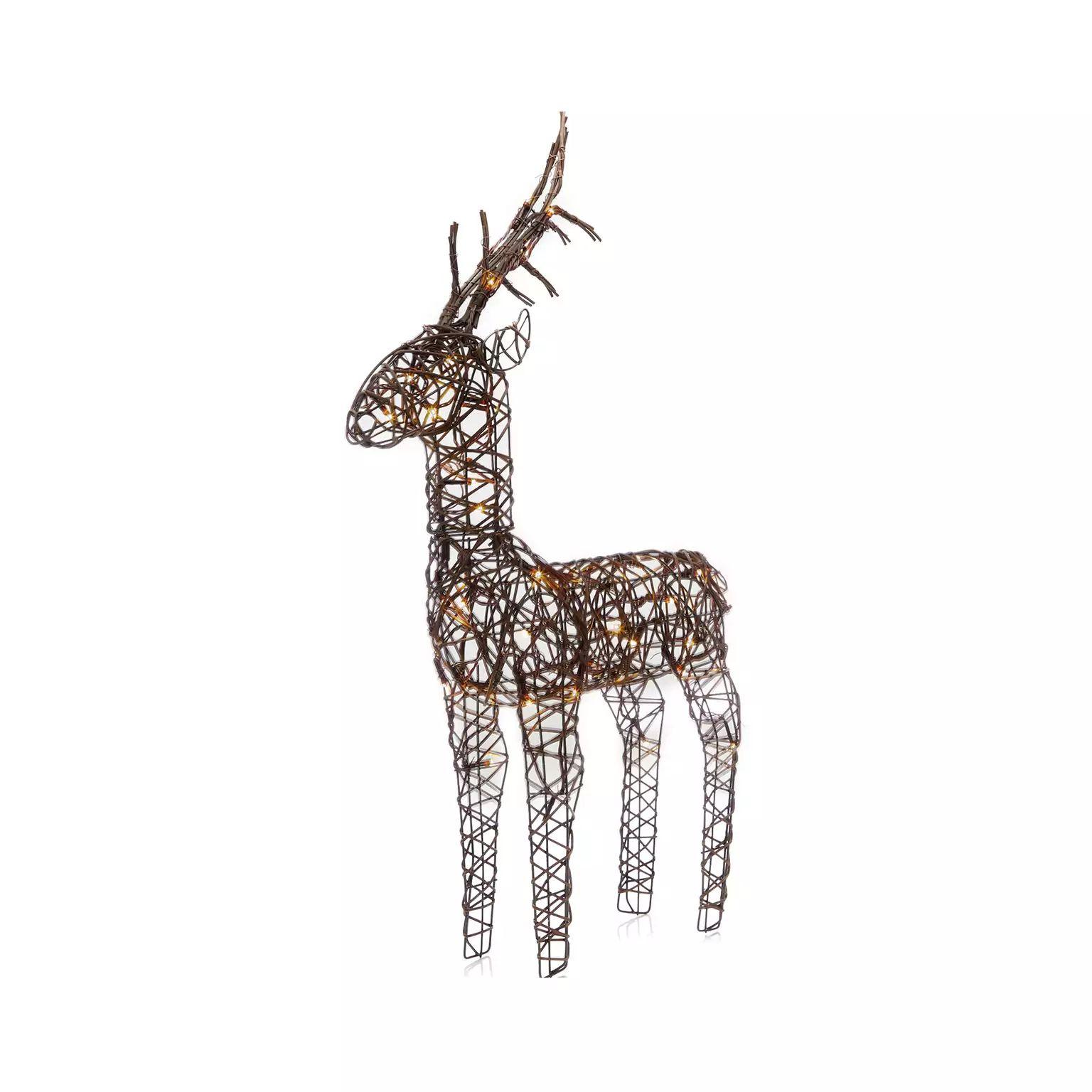 Wicker reindeer £15 +£3.49 Delivery @ Debenhams