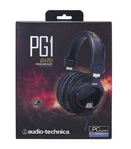 Audio-Technica ATH-PG1 Premium Closed-Back Gaming Headset with Removable Microphone £74.99 @ Amazon