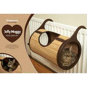 Rosewood Jolly Moggy Natural Bamboo Radiator Cat Bed @ Amazon £17.49 (+£4.49 Non Prime)