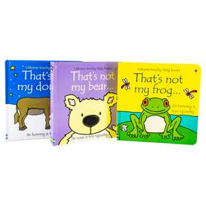 Three Usborne That's not my... books (Donkey, Bear, and Frog) for £11.98 delivered @ Books2Door