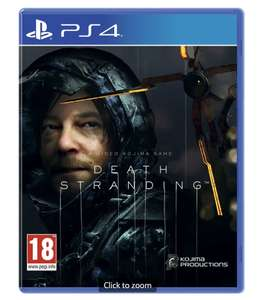 Death Stranding (PS4) £33.99 @ Sainsburys (Waterlooville)