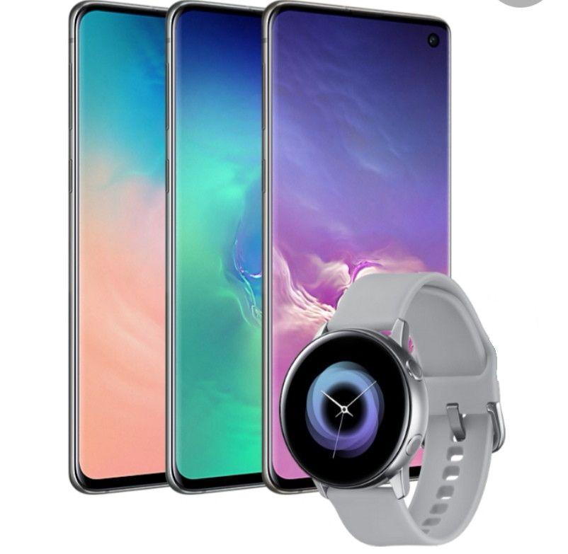 100GB Data + Free Watch Active On Three Samsung S10- £33pm/£29 Upfront £821 @ 3 Via Uswitch