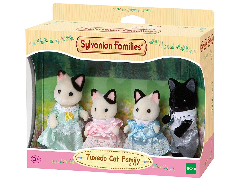 Sylvanian Families - Tuxedo Cat Family £10 (Prime) £14.49 (Non-Prime) @ Amazon