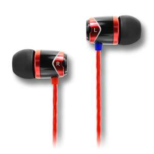 Soundmagic E10 in-ear earphones - Red and Blue £19.50 (extra 5% off for first time purchasers) @ Sound Magic Headphones