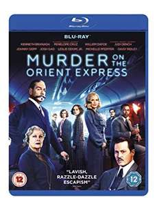 Murder On The Orient Express [Blu-ray + Digital Download] [2017] £4.99 (+£2.99 Non Prime) @ Amazon