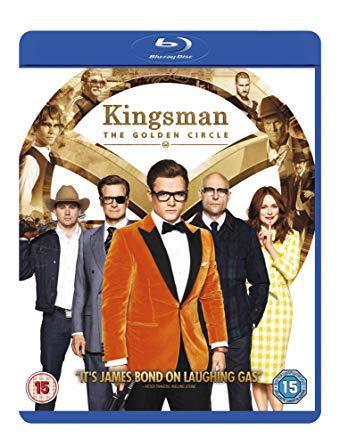 Kingsman: The Golden Circle [Blu-ray + Digital HD] [2017] £4.99 (+£2.99 Non Prime) @ Amazon