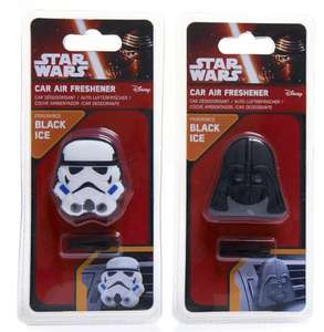 Star Wars 3D air fresheners £1 @ Poundland Blackburn