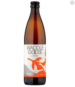 Waddle Goose Cyder 500ml 89p instore @ Home Bargains Titchfield