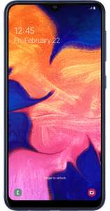 Samsung Galaxy A10 32GB - 600 Minutes, Unlimited Texts, 5GB Data, 24 Month Contract on iD Mobile £13.99 a month £355.75 total cost @ uSwitch