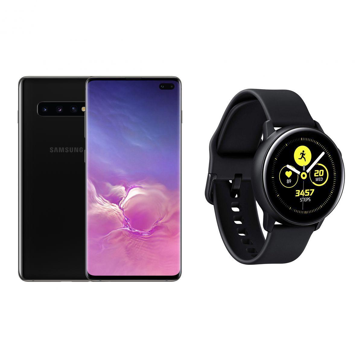 Samsung Galaxy S10+ Black + Free Samsung Galaxy Active 46mm £709.98 @ Amazon