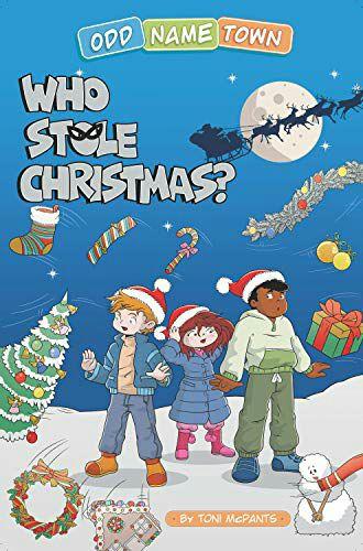 (FREE) Odd Name Town: Who Stole Christmas (Children's Book) Amazon Kindle
