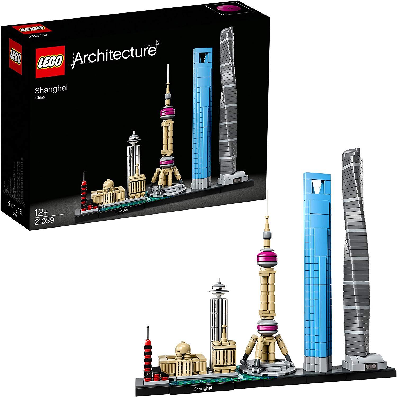 LEGO 21039 Architecture Shanghai Model Building Set £38.50 @ Amazon