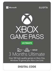 Xbox Game Pass Ultimate for Console | 3 Month £15.99 @ Amazon