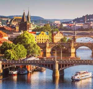 Le Palais Art Hotel Prague 5* 2 nights with flights for two from £312 (£156pp) @ Voyage Privé