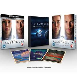 Passengers - 4K Ultra HD (Limited Edition Boxset With Script & Postcards) @ HMV Instore - £6.99