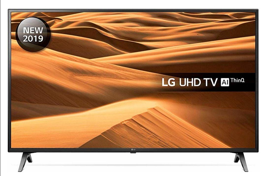 LG 43UM7100PLB 43 UHD 4K HDR TV Freeview Play £255.15 @ Hughes Ebay