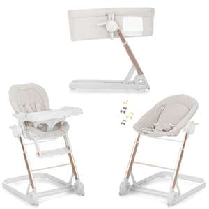 Hauck Icoo Grow With Me 3 in 1 Crib / Highchair / Rocker With MP3 Connectivity £109.95 Delivered @ Online4baby