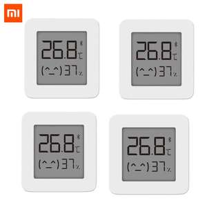 Xiaomi Mijia Smart Bluetooth Thermometer 4pcs for £13.55 delivered @ AliExpress Deals / MI-Fans Store