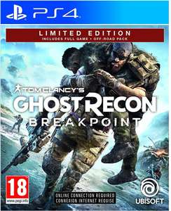 Tom Clancy's ghost recon breakpoint £24.99 @ Amazon