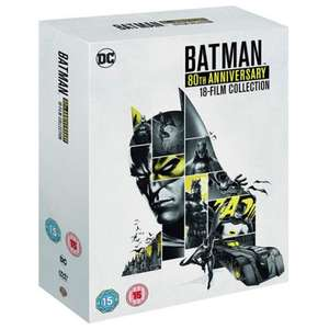 Batman 80th Anniversary 18 Disc Collection (Animated / DVD) £44.99 Using New Customer Code / Otherwise £49.99 @ WarnerBros
