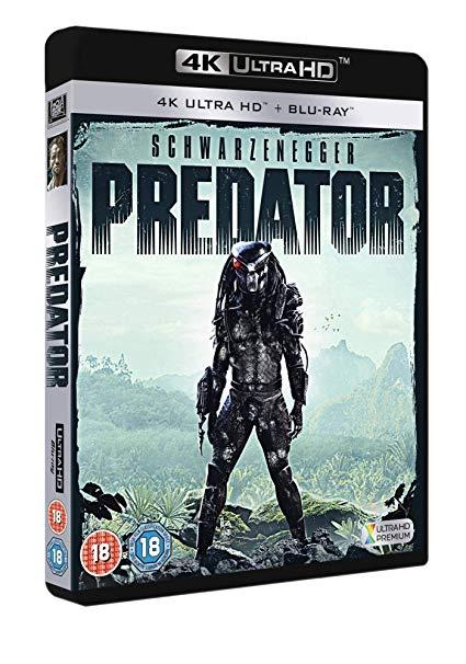 Predator [4K UHD Blu-Ray] [The Arnie version] £11.98 @ Amazon (+£4.49 Non-prime)