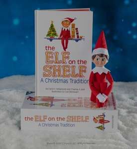 Elf on the Shelf with book reduced to £5 in Homebase