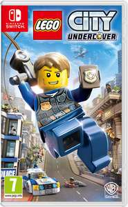 Lego city undercover Nintendo switch £19.95 @ the game collection